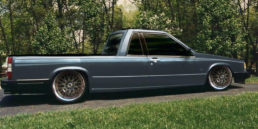 Has anyone stretched a car? v. 745 pickup - Page 2 - Turbobricks Forums
